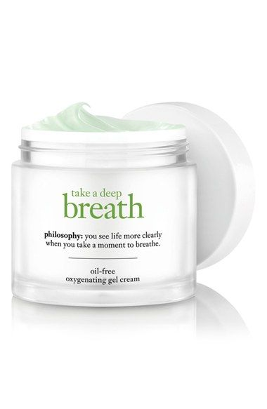 philosophy 'take a deep breath' oil-free oxygenating gel cream available at #Nordstrom