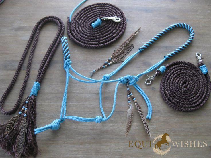 Voorbeelden Touwhalsters - EquiWishes