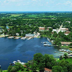 Green Lake, Wisconsin. Charming little lake town.