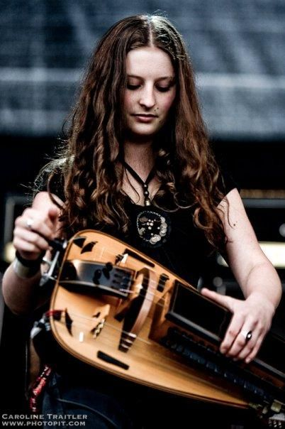 "Anna Murphy - Eluveitie on a scale of one to ""has a hurdy gurdy player"" how badass is your folk metal band"