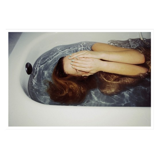Blue water Lana Prins