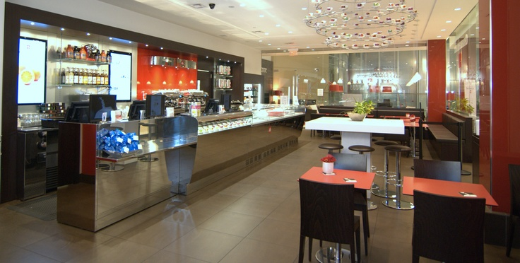 ...at Yorkdale Mall, Toronto Ontario, on the mezzanine of the new 'Dine on 3' food court.