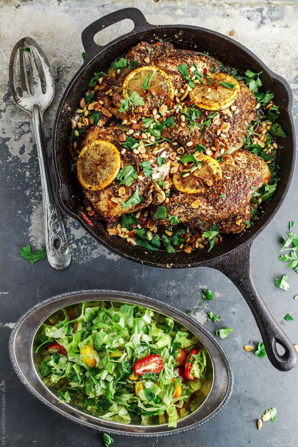 Za'atar Roasted Chicken Breast Recipe. Flavor-packed, succulent Mediterranean roast chicken with a lemon-garlic marinade, and allspice, sumac and za'atar. Step-by-step pictures included!