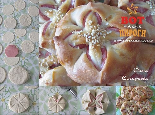Сто подробнейших мастер-классов по украшению пирогов  от Ольги Смирновой