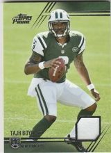 2014 Topps Prime Patches #PP-TBA Tajh Boyd New York Jets