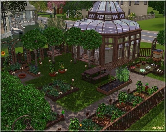 Small Garden Community Lot By Moni At Arda Sims  Finds