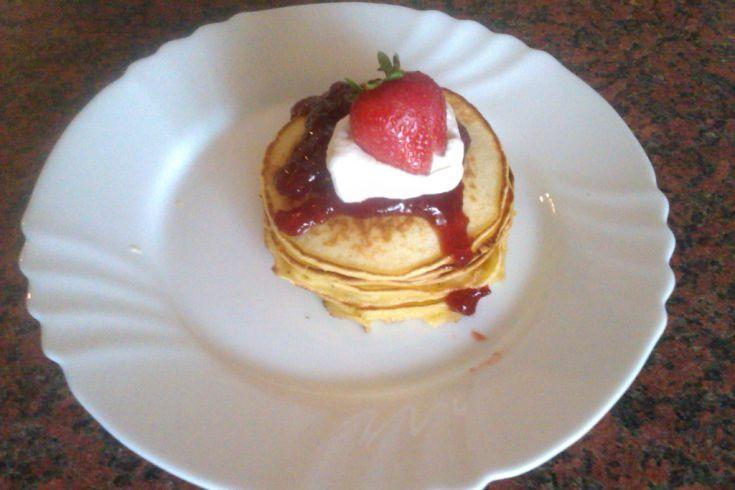 Fotorecept: Lievance s jahodovým džemom