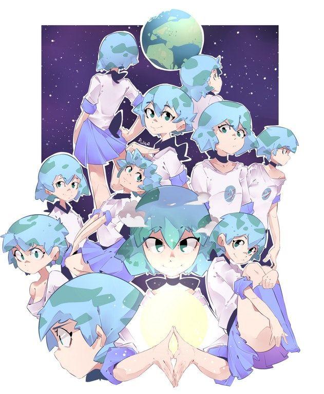 Earth-Chan: Earthchan