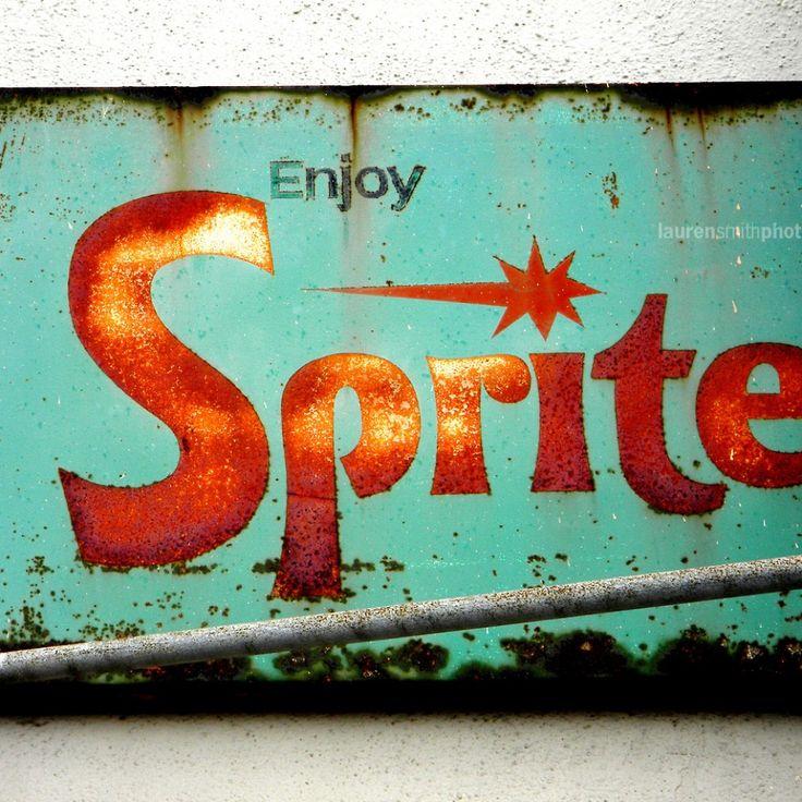 Sprite Vintage Sign