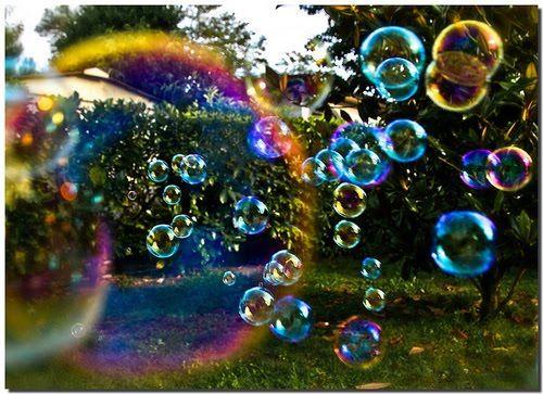 bolha de sabão | Beijo a Noite: Bolhas de sabão
