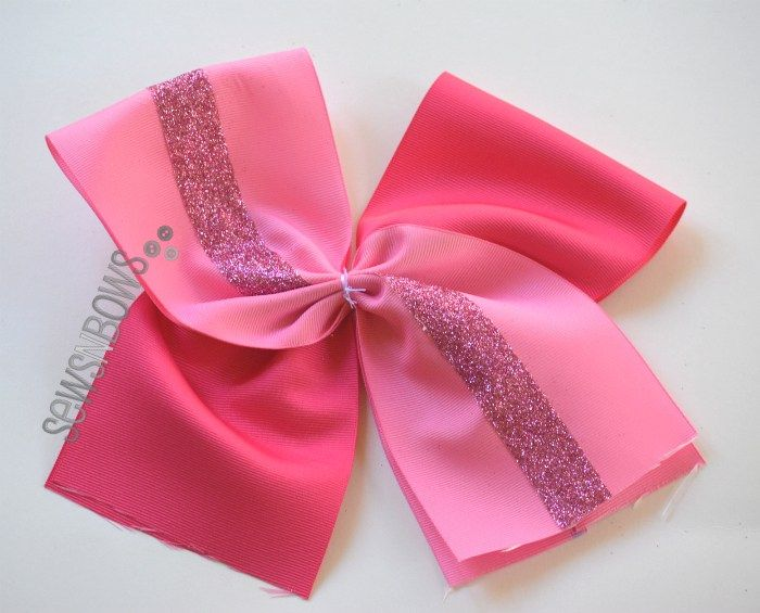 Pinktober Cheer Bow Tutorial