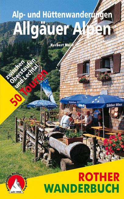 Allgäuer Alpen túrakalauz / Bergverlag Rother