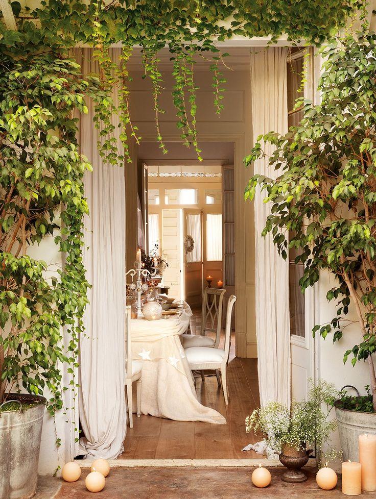 17 mejores ideas sobre casa decorada de navidad en pinterest ...