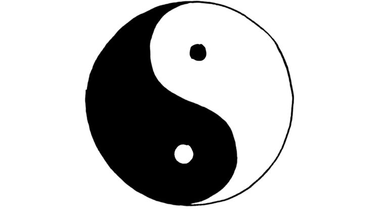 The hidden meanings of yin and yang - John Bellaimey  (you know, like Darth Vader and Luke ;-) )