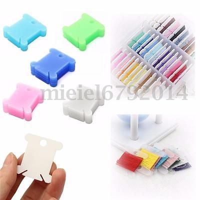 100pcs #plastic #bobbins embroidery floss&craft storage cross stitch #thread hold,  View more on the LINK: http://www.zeppy.io/product/gb/2/252640001399/