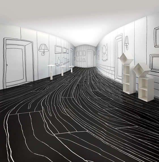 50 Minimalist Installations #Art #Design #Nendo http://trendhunter.com
