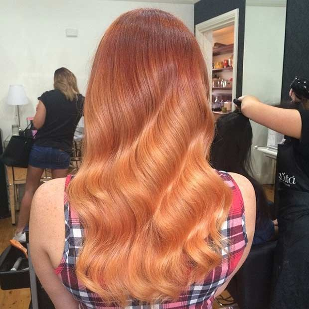 red and blonde hair styles 1000 ideas about copper balayage on balayage 6690 | 44903fd9115e432b9e6690ad5ed75613