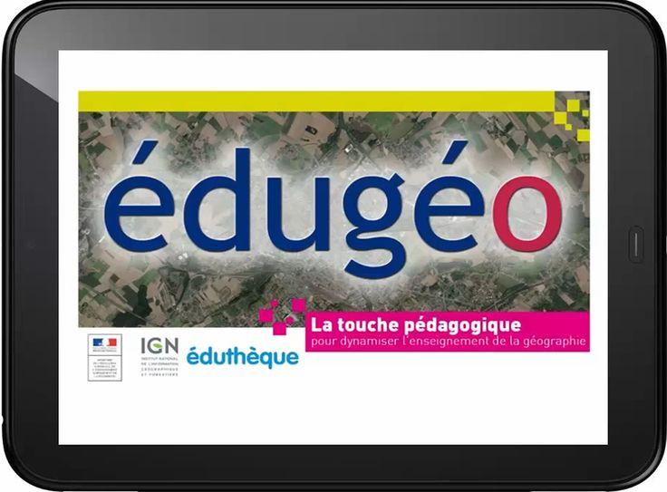Édugéo, le géoportail de l'éducation Ressource complète pour l'enseignement de la géographie.