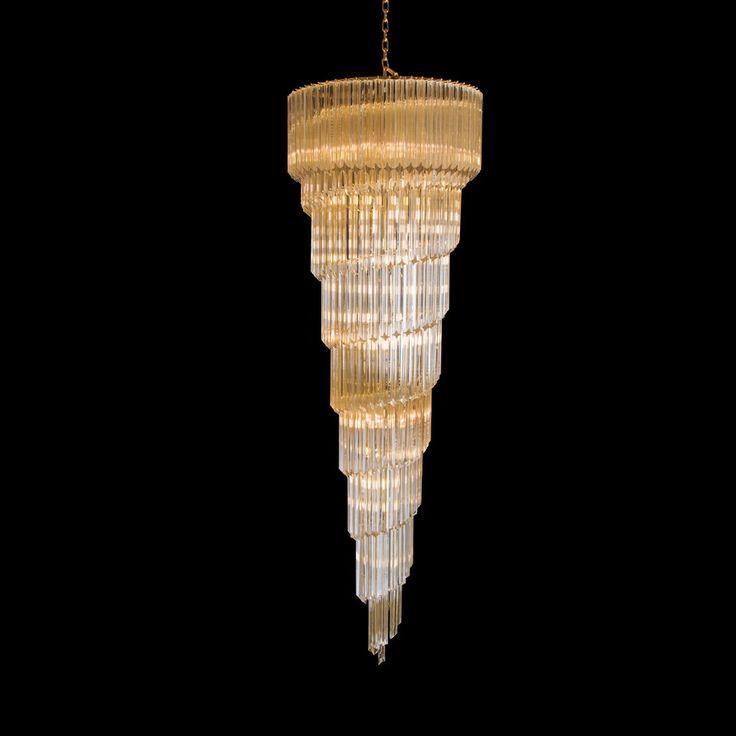 Vintage Murano Glass Chandelier Mastroianni