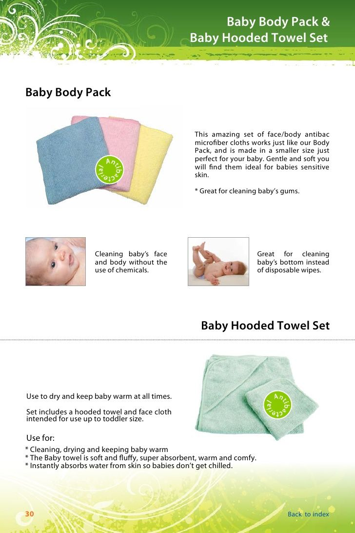 Baby Cloths Norwex Before After