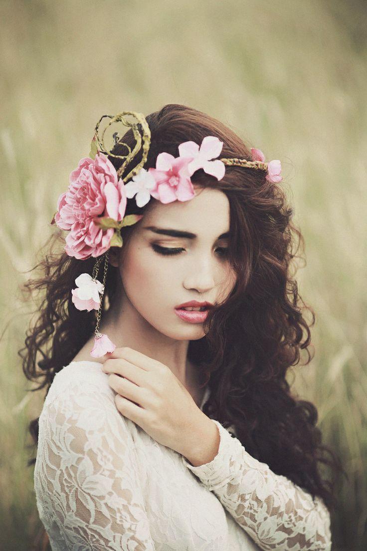 98 best flowercrowns images on pinterest crowns diy wreath and flower crown by me photo by brenda waworga izmirmasajfo