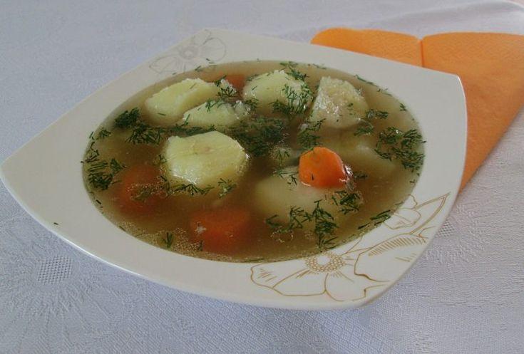 Rosół wieprzowy z ziemniakami