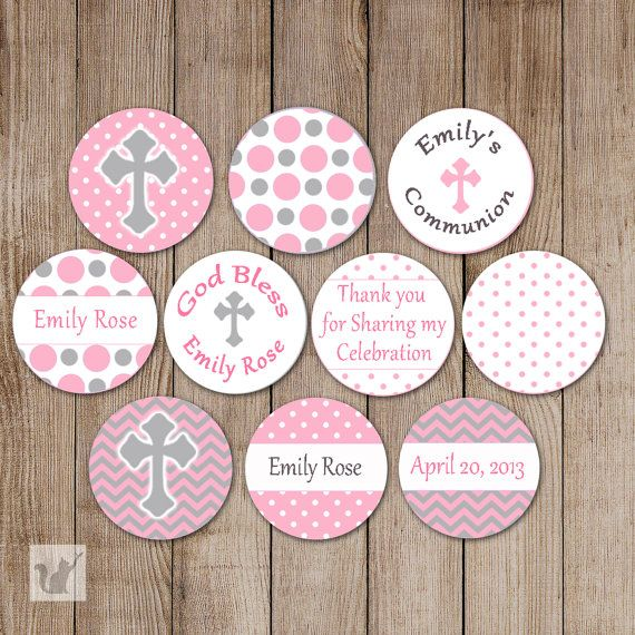 Printable Small Candy Labels 0.75 inch Candy por pinkthecat en Etsy