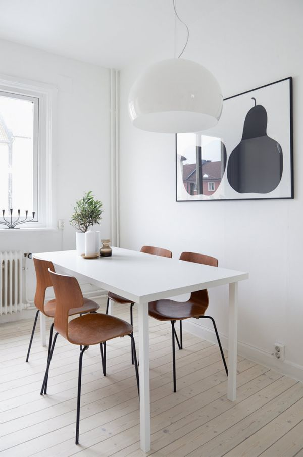 Scandinavian Tables Bring Simplicity To The Dining Room - 15 ...