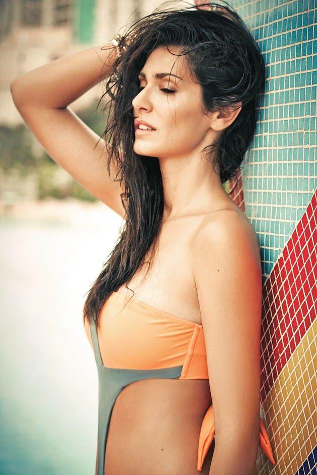 Bruna Abdullah Seductive In Swimsuit For Mandate magazine