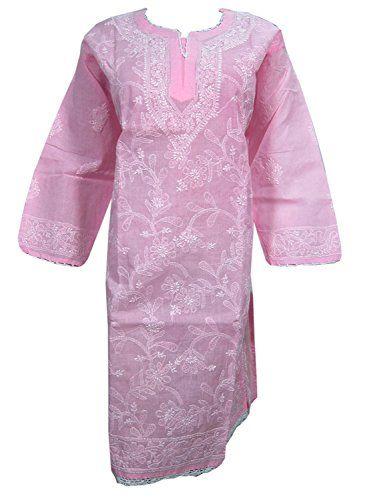 Mogul Womens Indian Tunic dress Women's Pink Embroidered ... https://www.amazon.ca/dp/B074K263R8/ref=cm_sw_r_pi_dp_x_7pZ1zbFV8T656