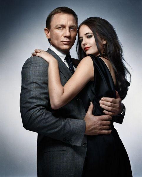 Daniel Craig and Eva Green casino royal's couple