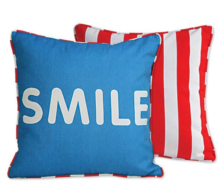 Μαξιλάρι Smile - Blue (Μπλε) - Nef Nef