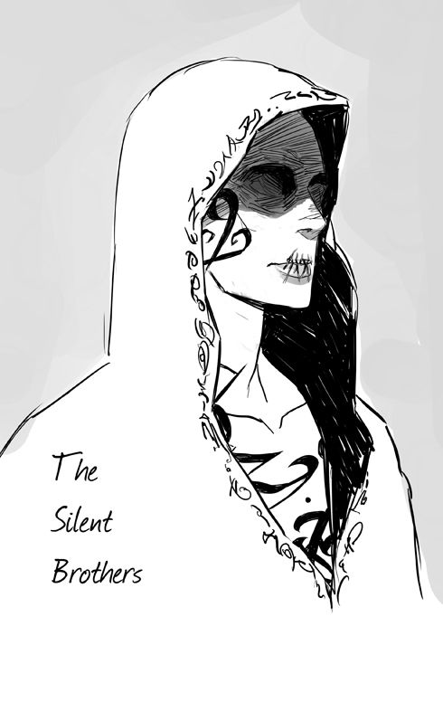 Cassandra Jean Cassandra Clare A Silent Brother fanart from The Mortal Instruments by@Cassie Edwards Happy (belated) Birthday!    The Mortal Institute@TMI_Institute @Cassandra Plemmonshave you ever drawn a Silent Brother? I'm curious what they look like. I try to visualize, but it's sort of hard. Well, this is how I envision the Silent Brothers to look. I think it's a tough thing, and people may always argue, about how characters from books should look!