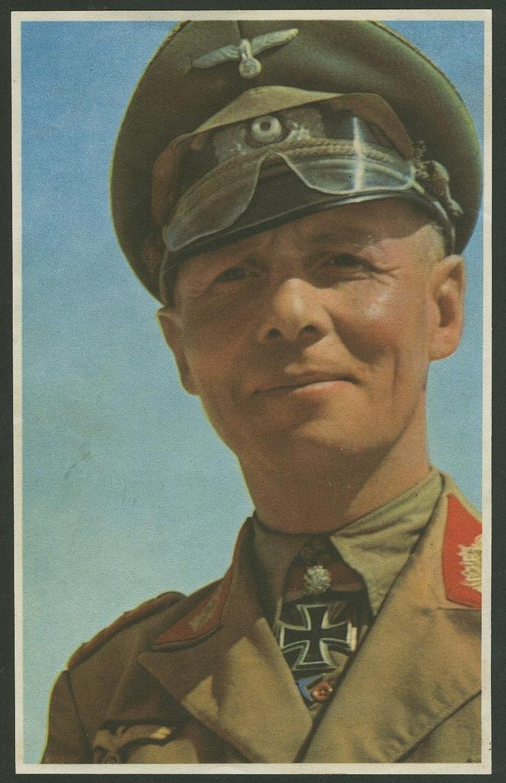 Third Reich Color Pictures: Generalfeldmarschall Erwin Johannes Eugen Rommel