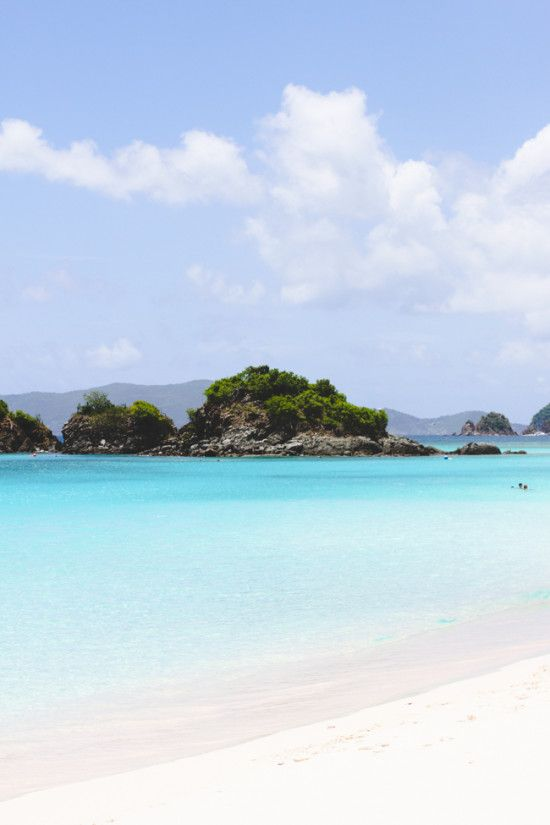 Dreaming of the Virgin Islands today.