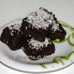 Cubetti di pandoro al cioccolato, ricetta di riciclo