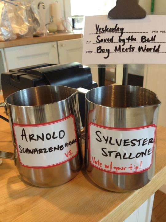 Clever Tip Jar Idea From Magpie Cafe In BR La Tip Jar