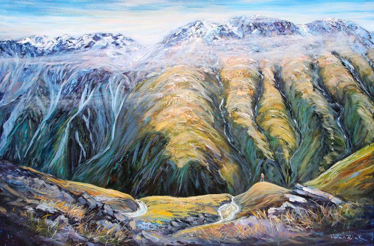 Mountain Valley High - By Helen Blair http://shop.helenblairsart.co.nz