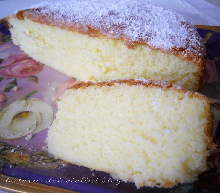 torta ricotta limone