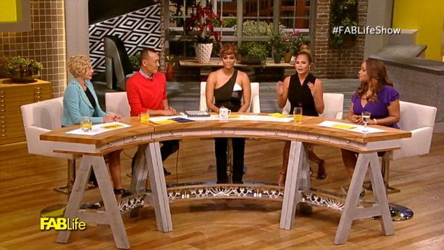 Tyra Banks and Chrissy Teigen discussed the fertility struggles they both have had during an episode of their new talk show 'FabLife.'  When Tyra revealed her personal struggles trying to conceive, it brought the host to tears.