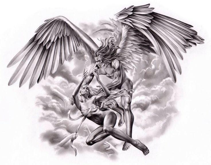 19 best images about fallen angel tats designs and ideas on pinterest warrior angel black. Black Bedroom Furniture Sets. Home Design Ideas