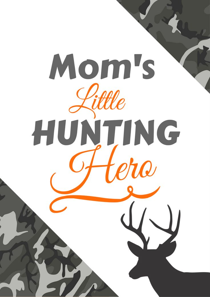 Hunting gifts for kids!   Mom's little hunting hero!