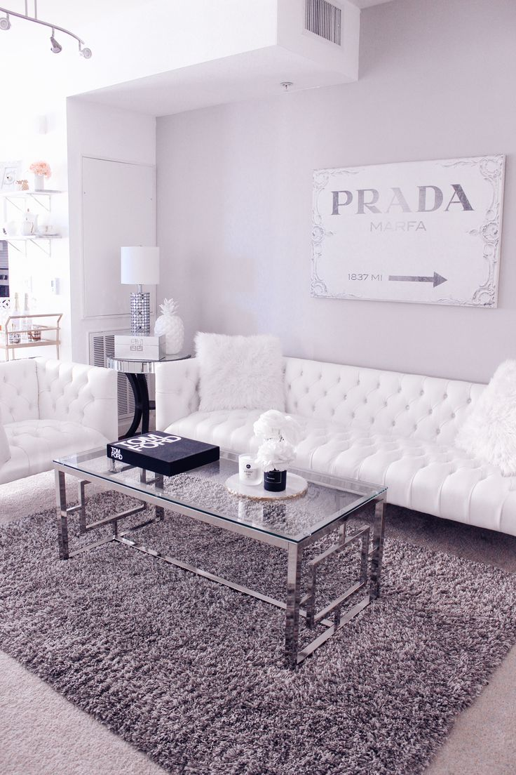 17 best ideas about white apartment on pinterest for Living room ideas white