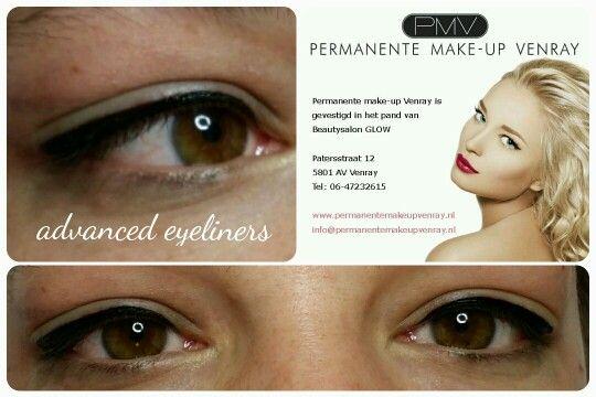 Advanced eyeliners door Nathalie Rozema, permanente make-up Venray.nl