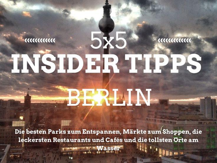Insider Tipps