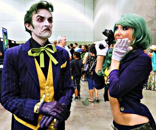 How much awesome can we put in a photo? Answer: Anthony Misiasno & Jessica Nigri