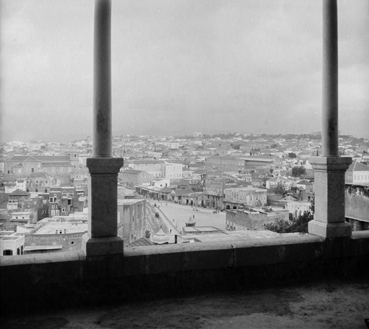 Beirut, Lebanon, 1900 (Osmanlı Dönemi Beyrut, Lübnan)