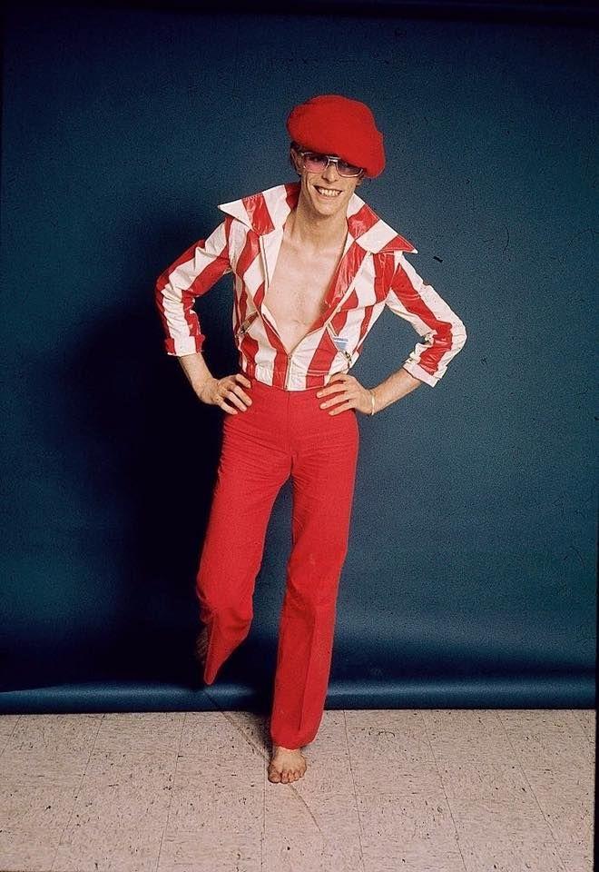 David Bowie © Steve Schapiro ('74―'76).