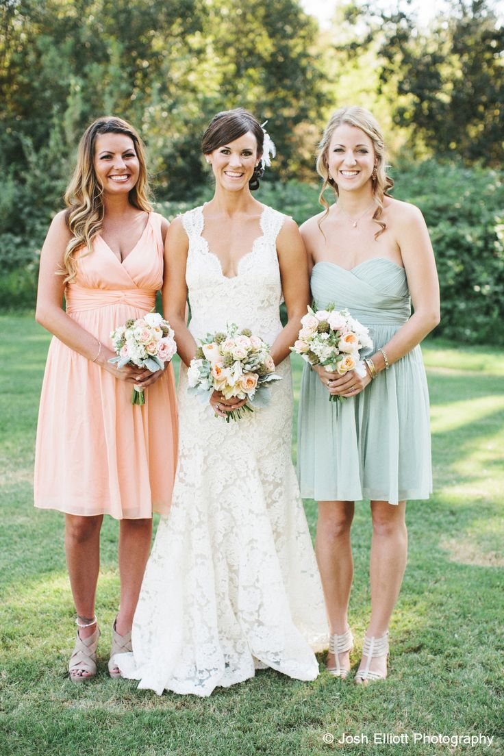 337 best wedding stuff images on pinterest marriage wedding a gorgeous real wedding featuring the jessie and morgan in peach fuzz josh elliott photography ombrellifo Image collections