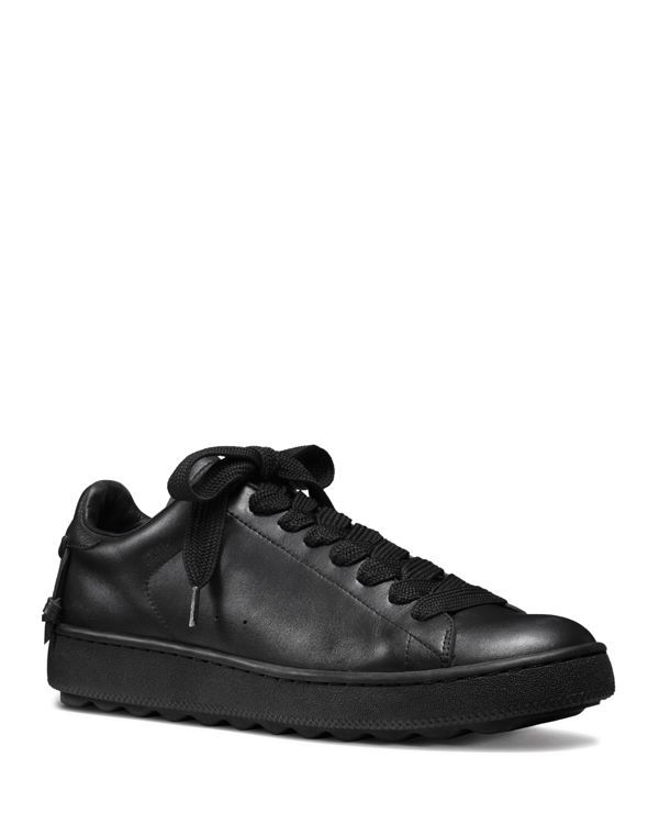 Coach Low Top Leather Sneaker